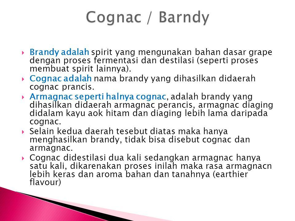 Cognac / Barndy