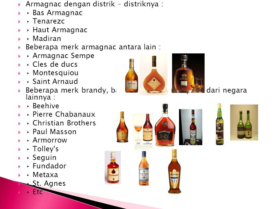 Armagnac dengan distrik – distriknya :
