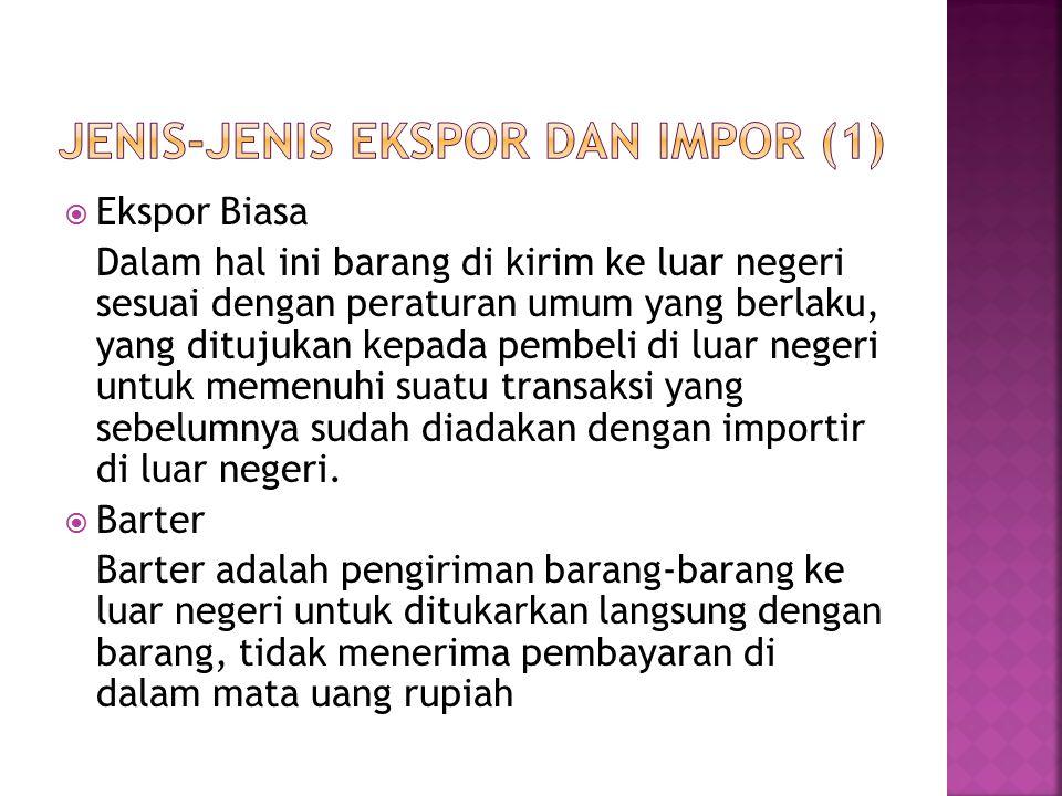 Jenis-jenis Ekspor dan Impor (1)
