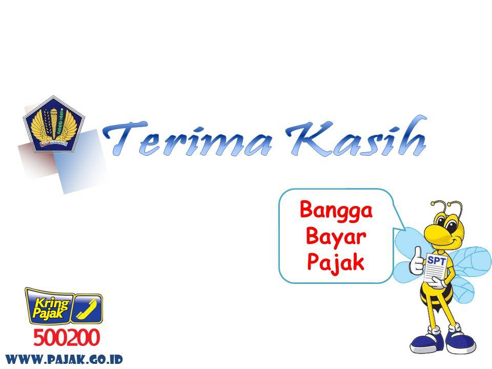 Terima Kasih Bangga Bayar Pajak www.pajak.go.id