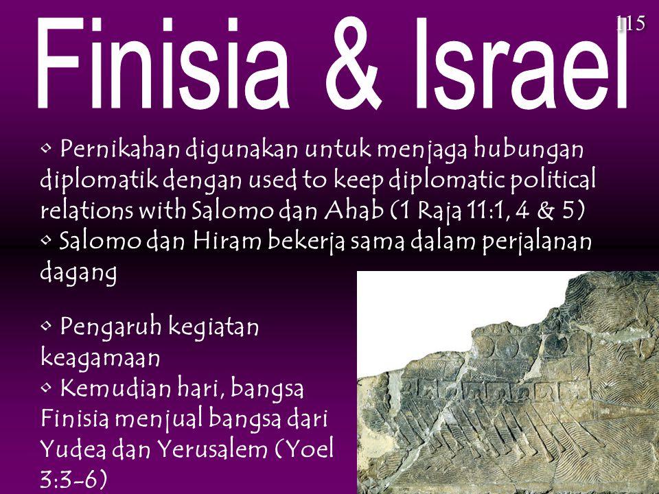 115 Finisia & Israel.