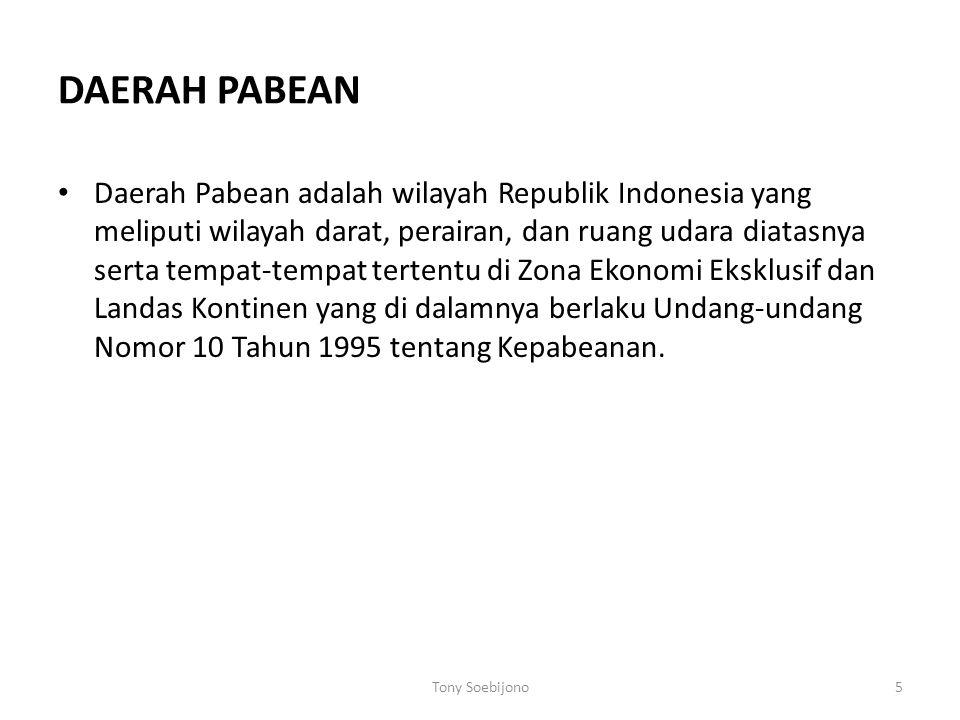 DAERAH PABEAN
