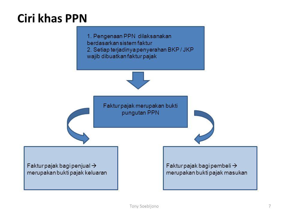 Faktur pajak merupakan bukti pungutan PPN