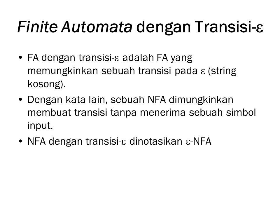 Finite Automata dengan Transisi-