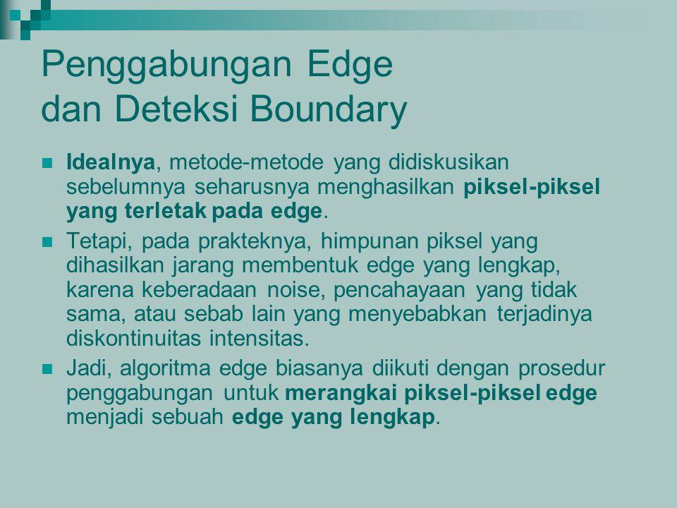 Penggabungan Edge dan Deteksi Boundary