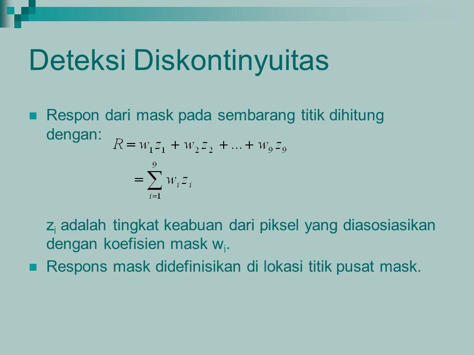Deteksi Diskontinyuitas