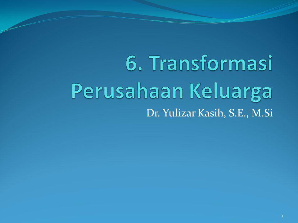 6. Transformasi Perusahaan Keluarga