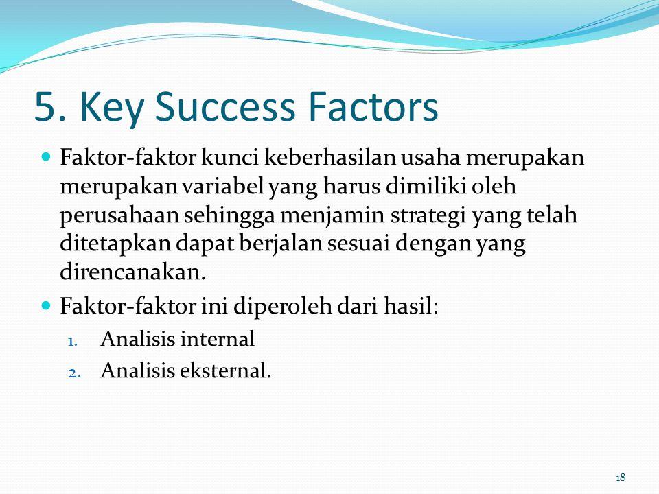 5. Key Success Factors