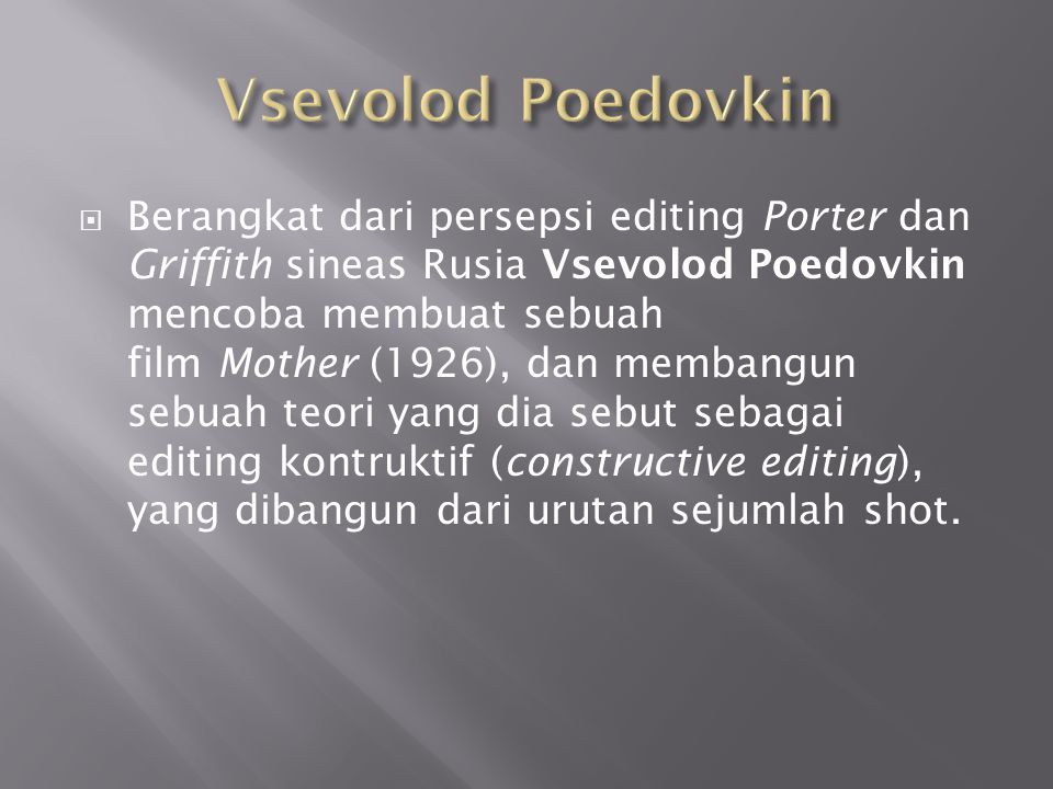 Vsevolod Poedovkin