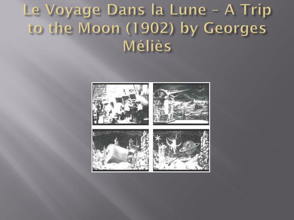 Le Voyage Dans la Lune – A Trip to the Moon (1902) by Georges Méliès