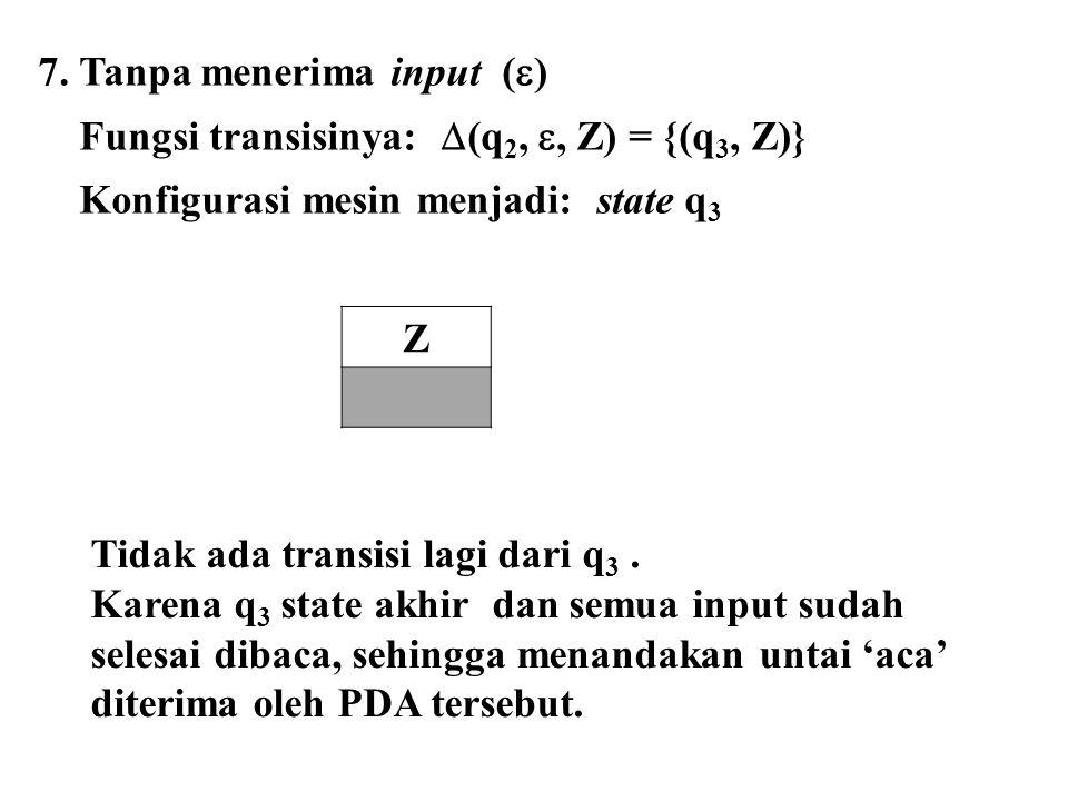 7. Tanpa menerima input ()