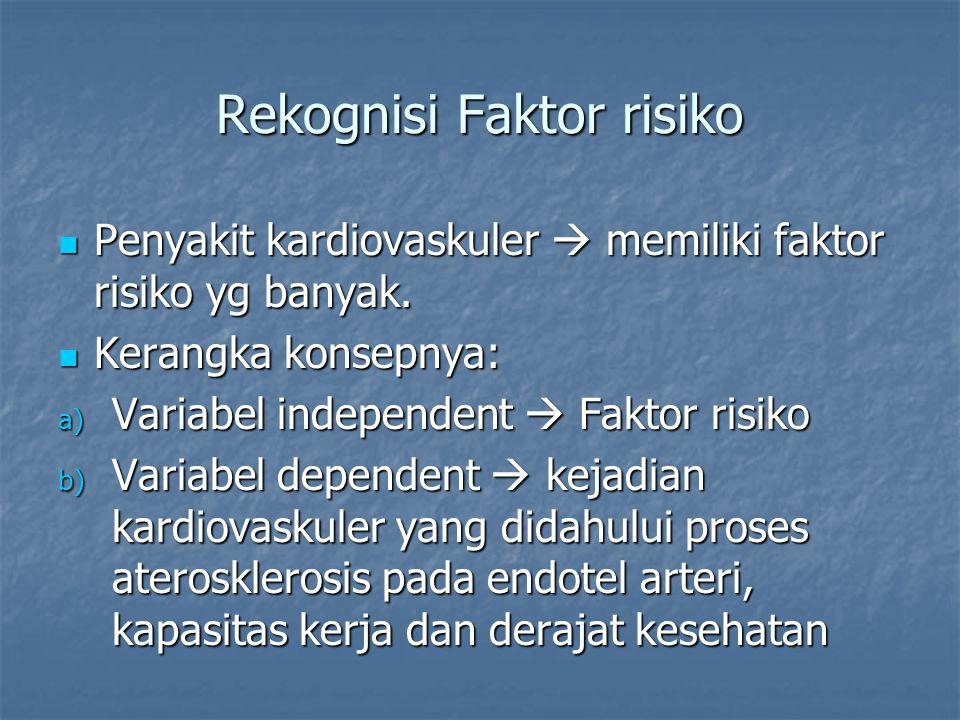 Rekognisi Faktor risiko