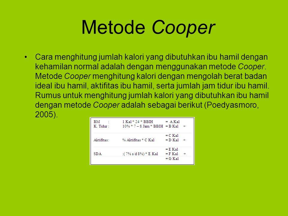 Metode Cooper