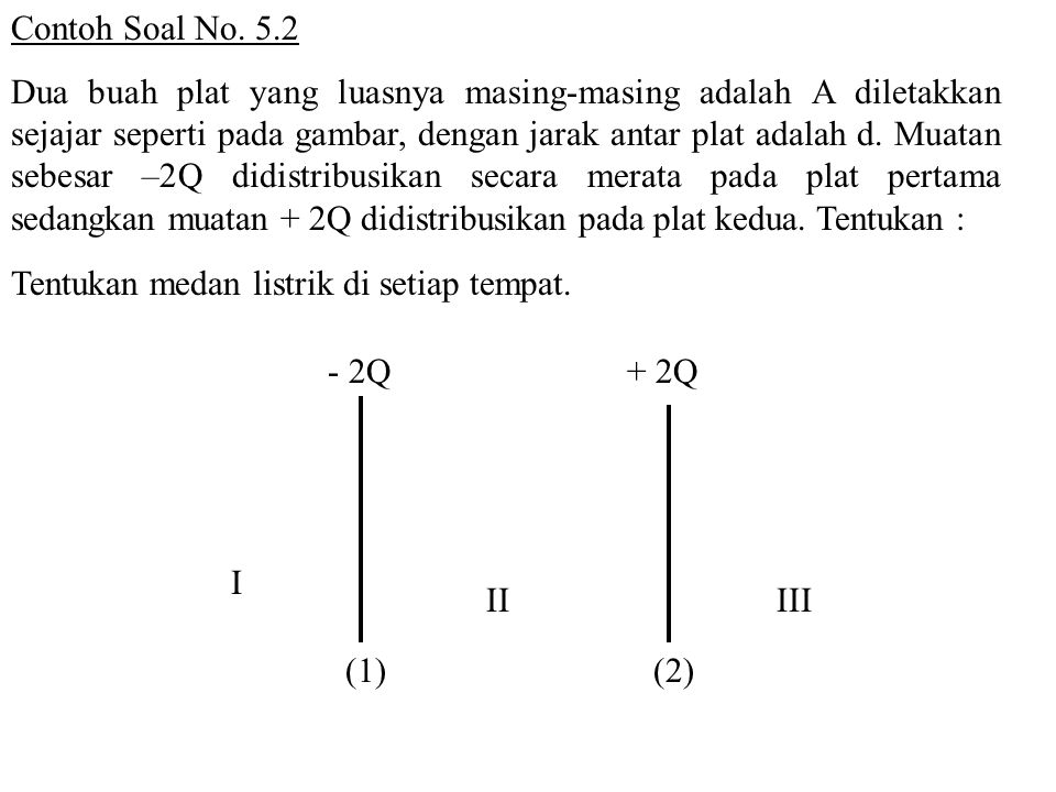 Contoh Soal No. 5.2