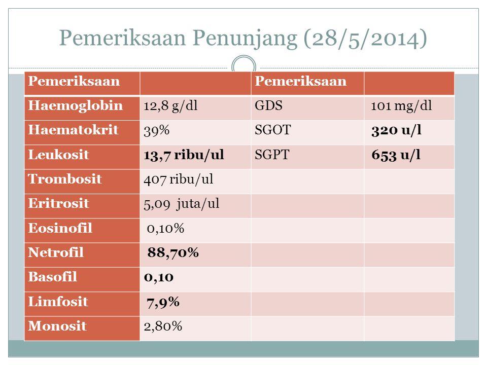 Pemeriksaan Penunjang (28/5/2014)