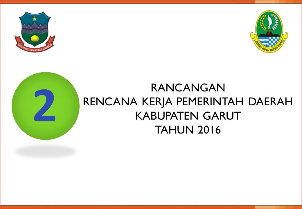 Rencana Kerja PeMERINTAH Daerah Kabupaten Garut