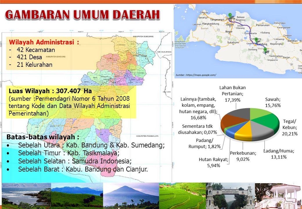 GAMBARAN UMUM DAERAH Batas-batas wilayah :