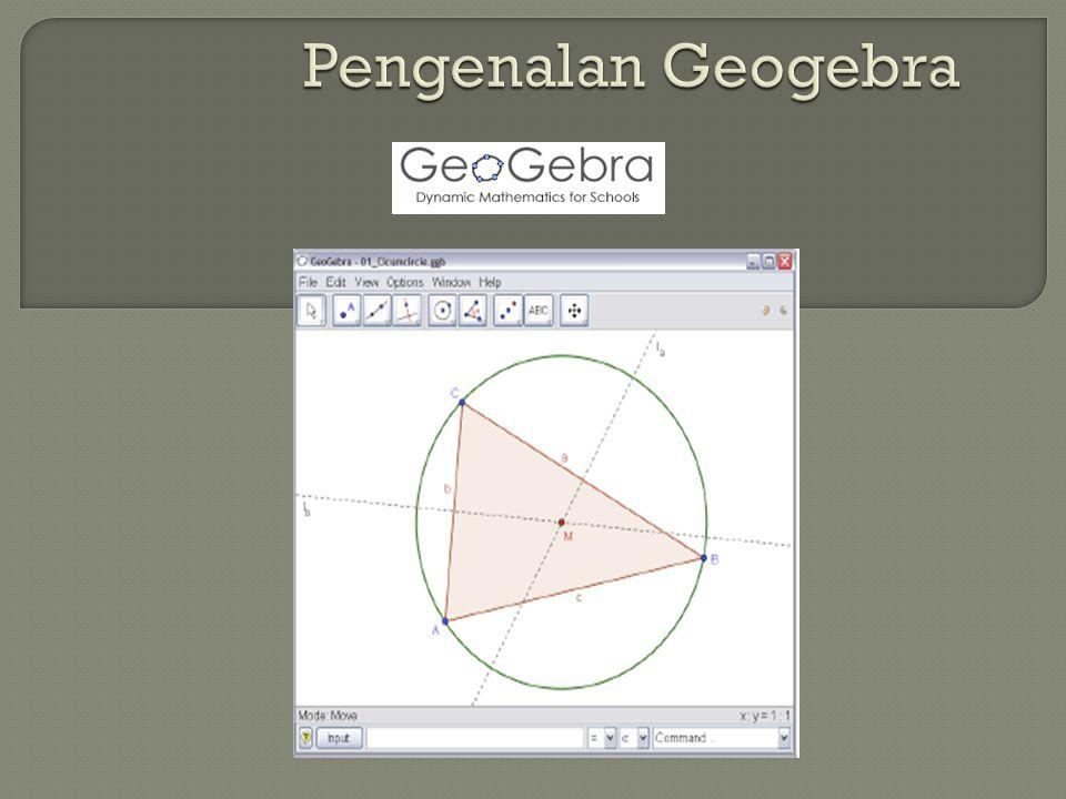 Pengenalan Geogebra
