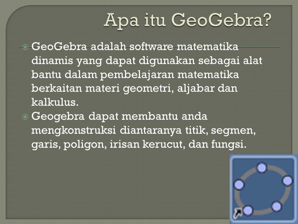 Apa itu GeoGebra