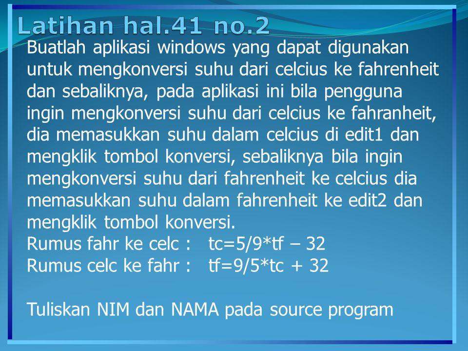 Latihan hal.41 no.2
