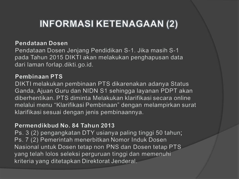 INFORMASI KETENAGAAN (2)