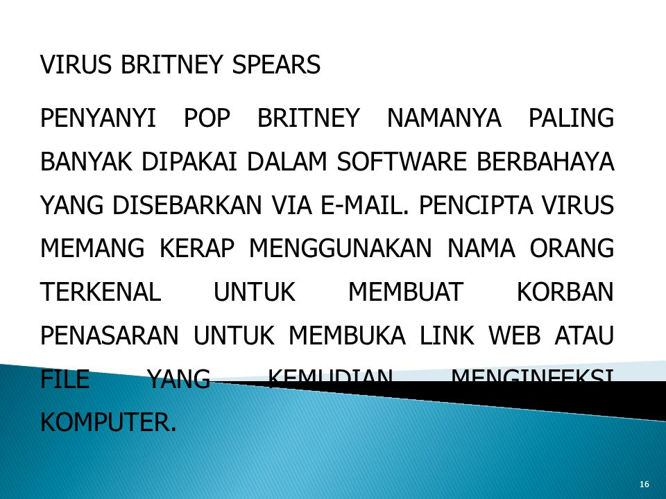 VIRUS BRITNEY SPEARS