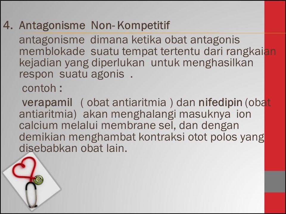 4. Antagonisme Non- Kompetitif