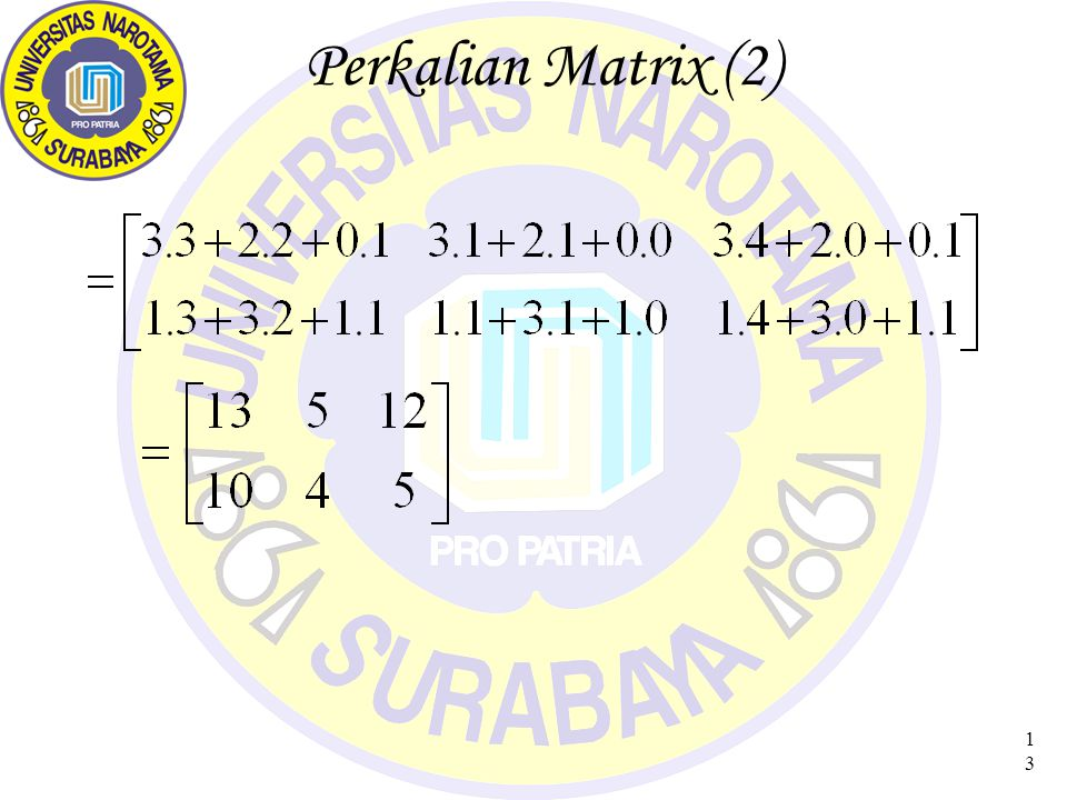 Perkalian Matrix (2)
