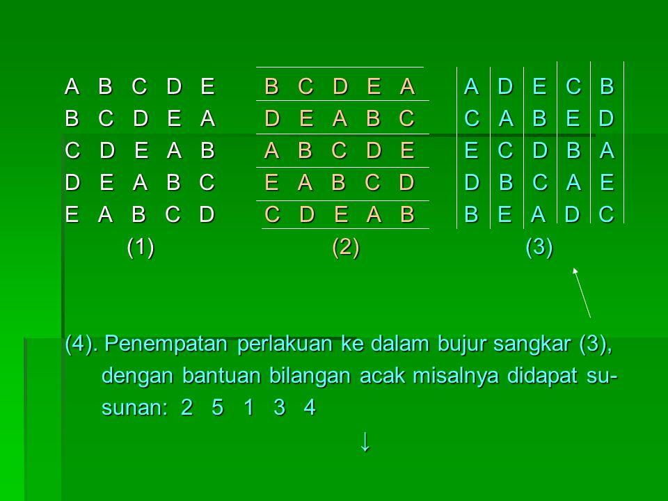 A B C D E B C D E A A D E C B B C D E A D E A B C C A B E D.