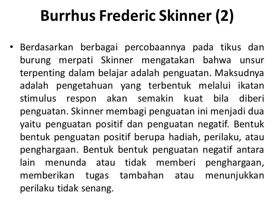 Burrhus Frederic Skinner (2)