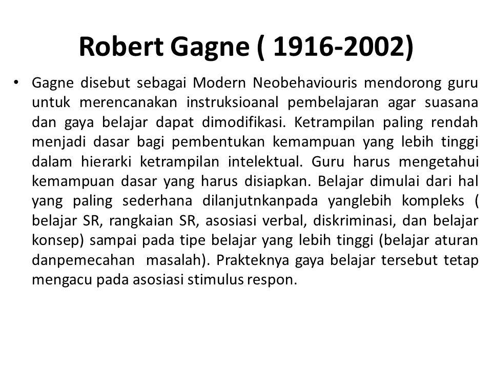 Robert Gagne ( 1916-2002)