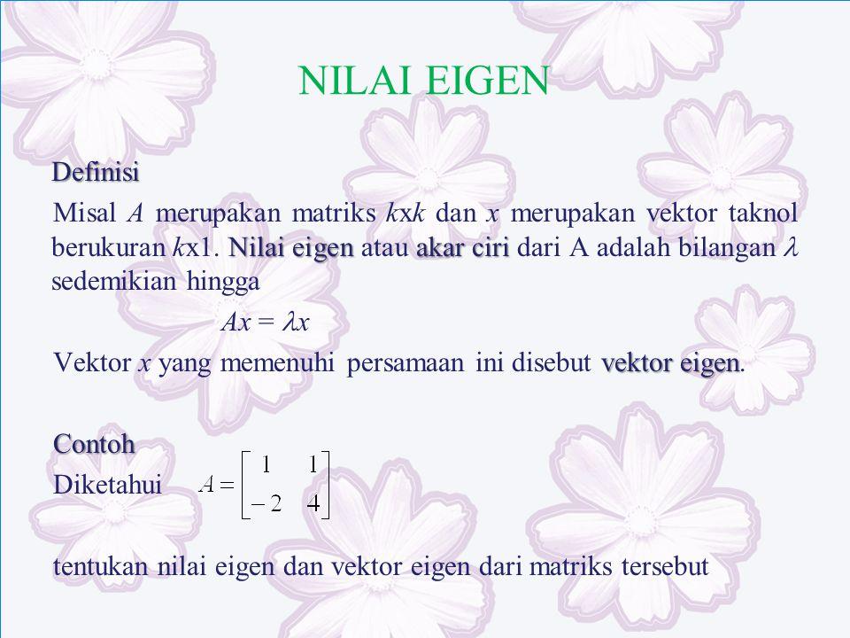 NILAI EIGEN