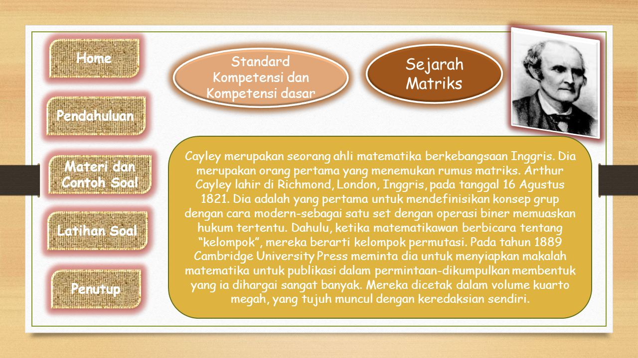 Standard Kompetensi dan Kompetensi dasar