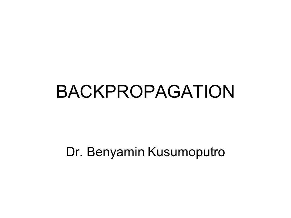 Dr. Benyamin Kusumoputro