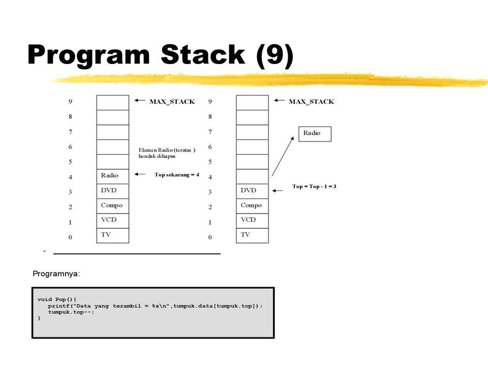 Program Stack (9)