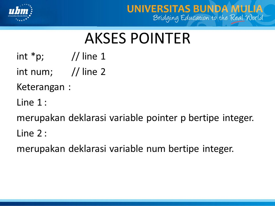 AKSES POINTER