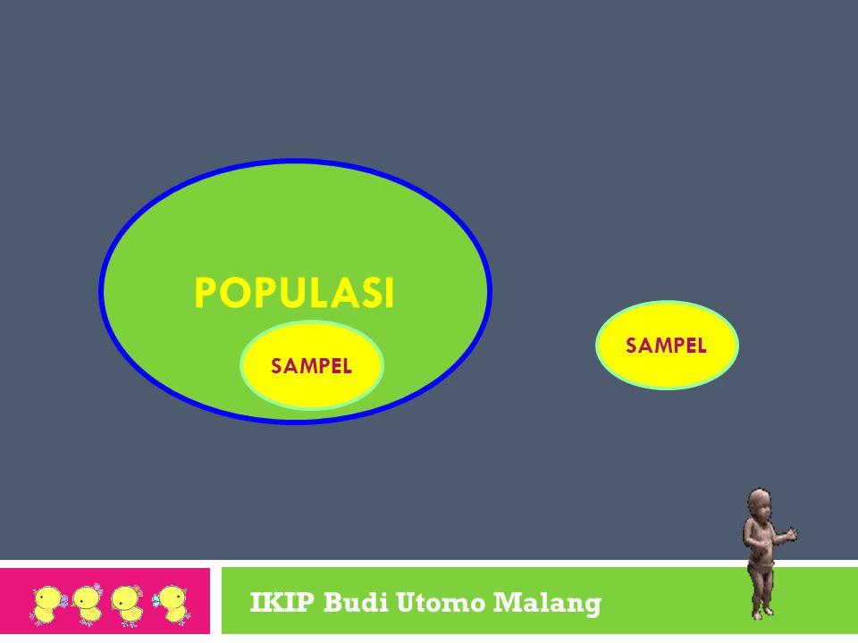 POPULASI SAMPEL SAMPEL IKIP Budi Utomo Malang