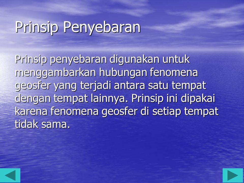 Prinsip Penyebaran