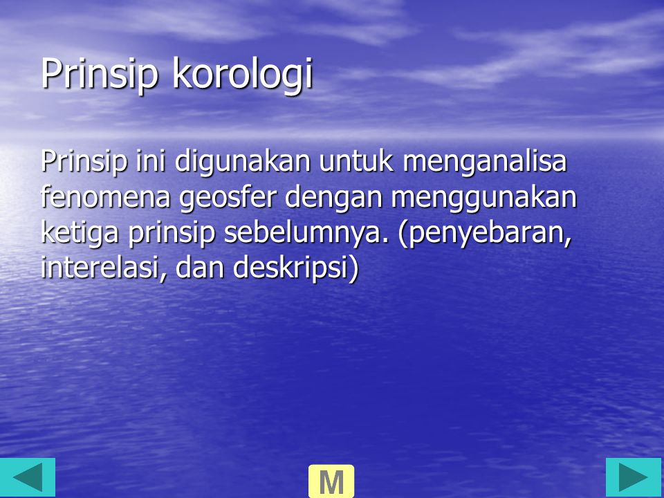 Prinsip korologi