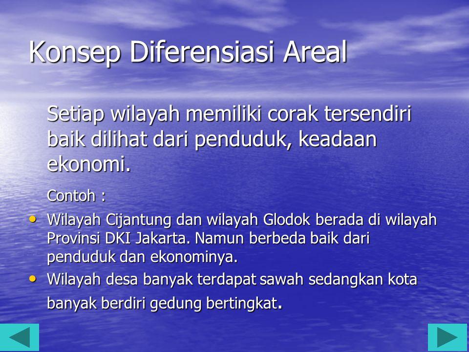 Konsep Diferensiasi Areal