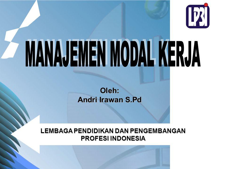LEMBAGA PENDIDIKAN DAN PENGEMBANGAN PROFESI INDONESIA