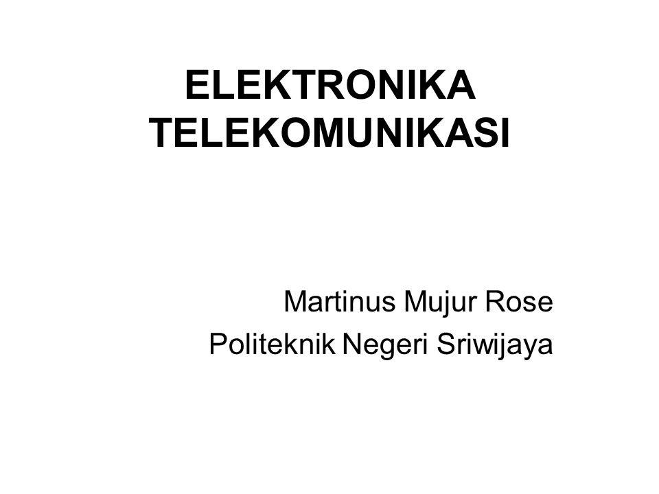 ELEKTRONIKA TELEKOMUNIKASI