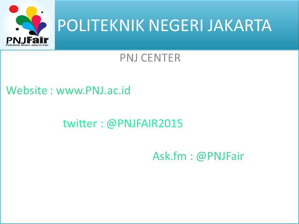 POLITEKNIK NEGERI JAKARTA