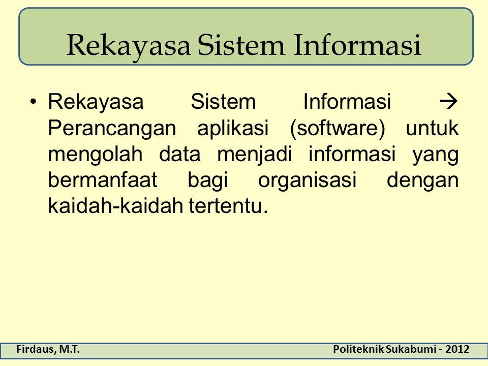 Rekayasa Sistem Informasi