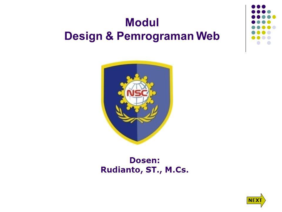 Modul Design & Pemrograman Web
