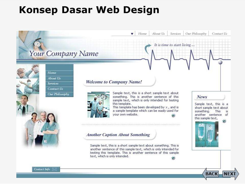 Konsep Dasar Web Design
