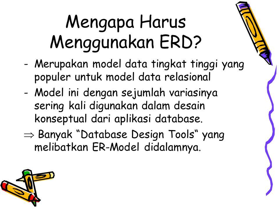 Mengapa Harus Menggunakan ERD