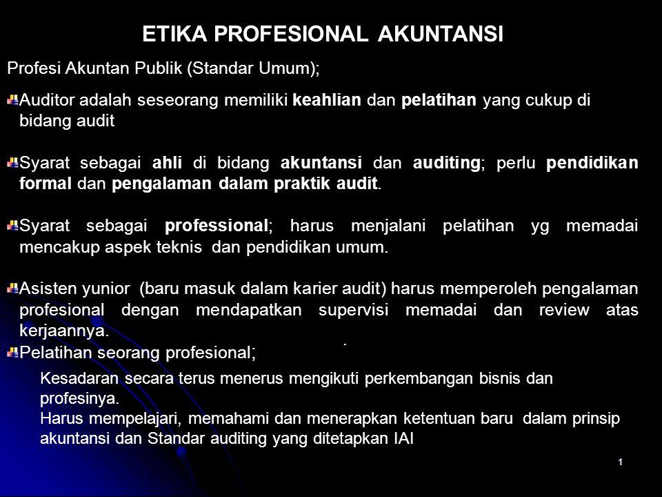 ETIKA PROFESIONAL AKUNTANSI