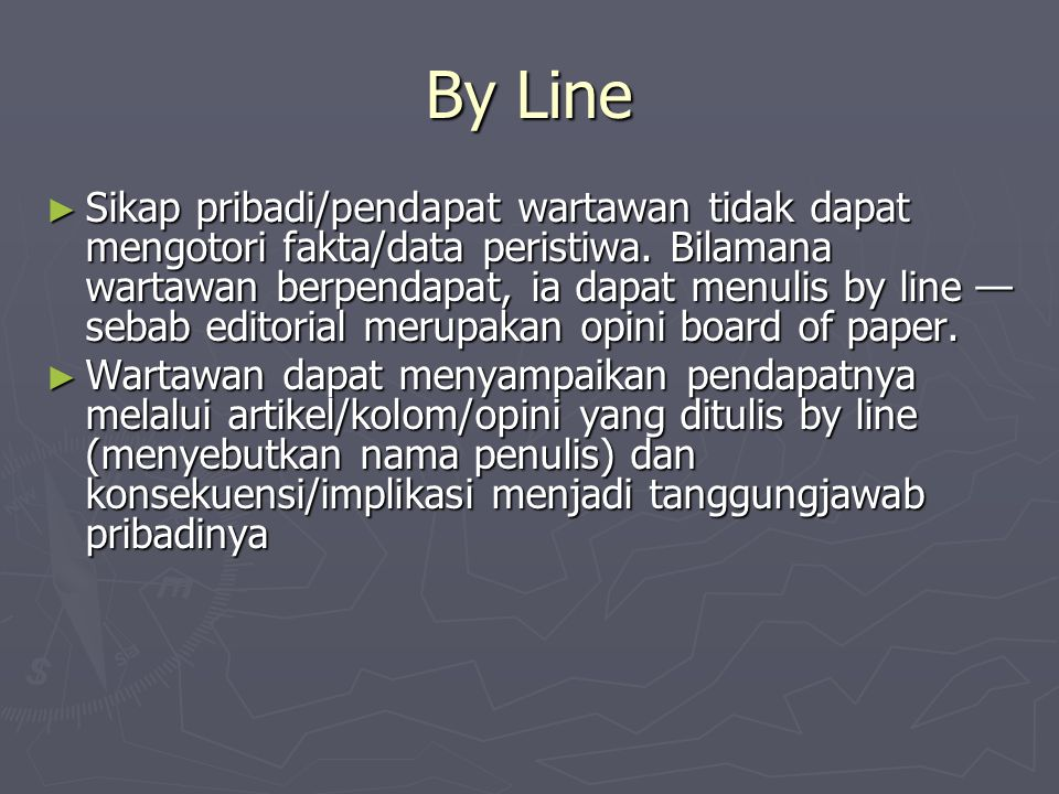 By Line