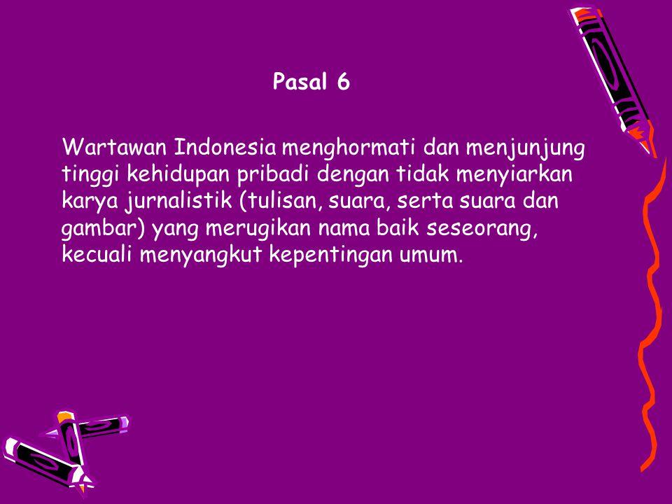 Pasal 6
